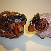 """Куклы и игрушки ручной работы. Ярмарка Мастеров - ручная работа """"Раз барашек, два барашек..."""". Handmade."""