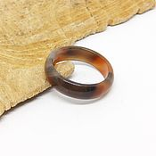 Украшения handmade. Livemaster - original item Ring of agate18.5 R-R Sunsets of Africa. Handmade.