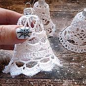 Сувениры и подарки handmade. Livemaster - original item Christmas Bell crocheted K3. Handmade.