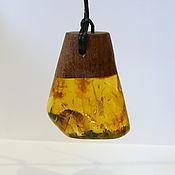 Украшения handmade. Livemaster - original item Amber. Pendant amber, mahogany 561. Handmade.