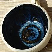 """Посуда ручной работы. Ярмарка Мастеров - ручная работа Набор кружек """"Марианская впадина"""". Handmade."""