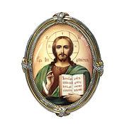 """Картины и панно handmade. Livemaster - original item The icon """"God Almighty"""". Handmade."""