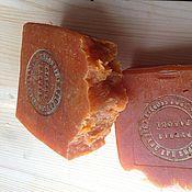 """Косметика ручной работы. Ярмарка Мастеров - ручная работа Натуральное мыло """"Апельсиновое"""" ГС. Handmade."""