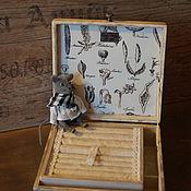 """Для дома и интерьера ручной работы. Ярмарка Мастеров - ручная работа Шкатулка для украшений """"Botanica"""". Handmade."""