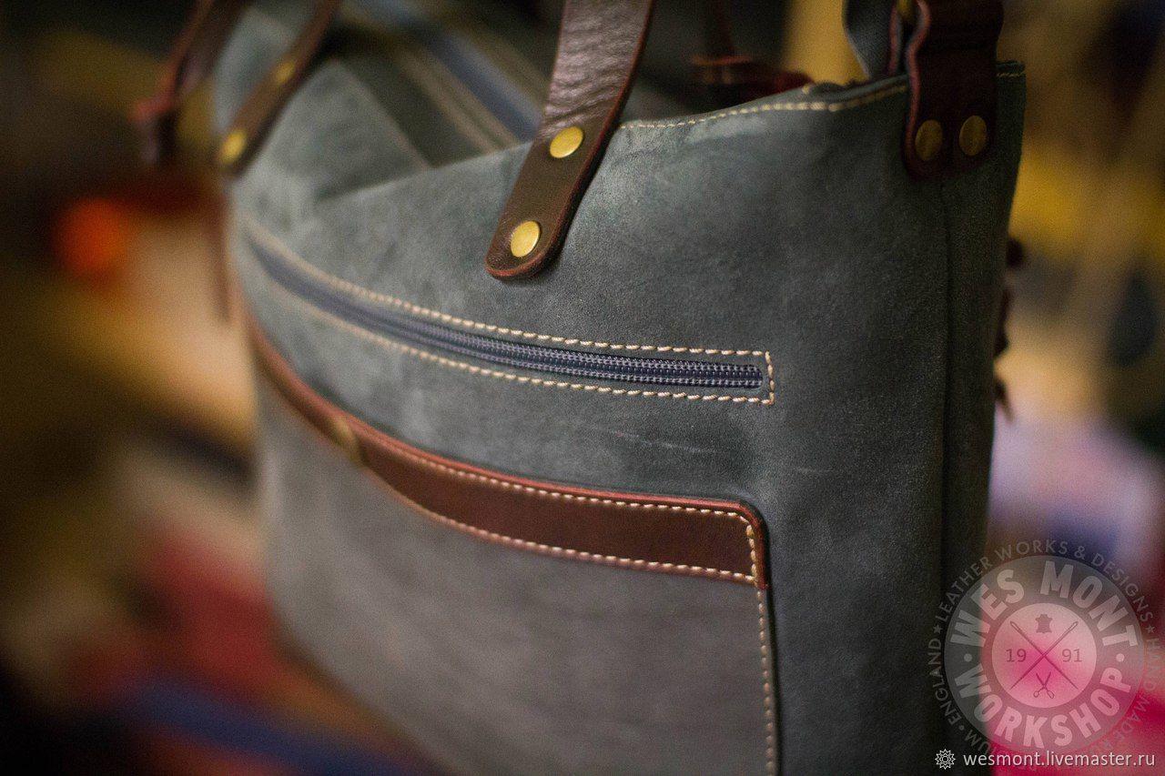 c2759fc22fb1 Женские сумки ручной работы. Замшевая сумка женская НАТАЛИ Серая замша  Бордовая кожа С ручками.