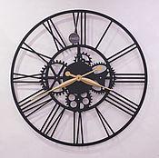 """Часы классические ручной работы. Ярмарка Мастеров - ручная работа Часы настенные """"Римские"""" 620 мм. Handmade."""