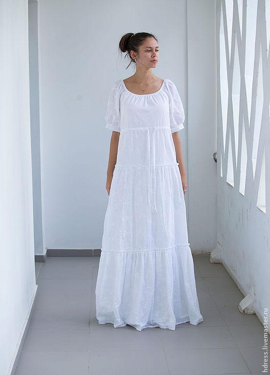 Свадебные платья из хлопка