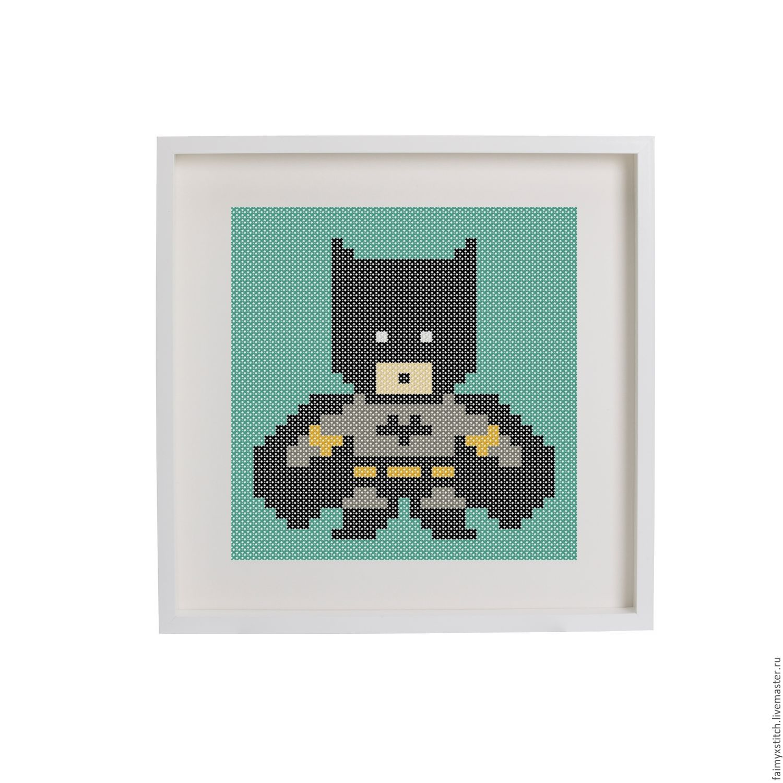 Схемы вышивок бэтмен
