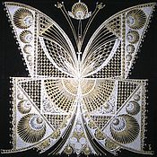 Картины и панно ручной работы. Ярмарка Мастеров - ручная работа бабочка. Handmade.