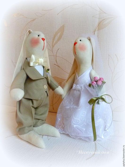 Подарки на свадьбу ручной работы. Ярмарка Мастеров - ручная работа. Купить Свадебные зайцы. Handmade. Белый, свадьба, свадебный подарок