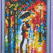"""Картины и панно ручной работы. Ярмарка Мастеров - ручная работа Картина """"Под дождем"""". Handmade."""