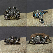 Материалы для творчества handmade. Livemaster - original item Crab bracelet lock. Handmade.