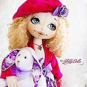 Куклы и игрушки ручной работы. Ярмарка Мастеров - ручная работа Текстильная кукла Лили. Handmade.