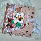 Фотоальбомы ручной работы. Ярмарка Мастеров - ручная работа Фотоальбом для влюбленных. Фотоальбом для молодой семьи. Handmade.