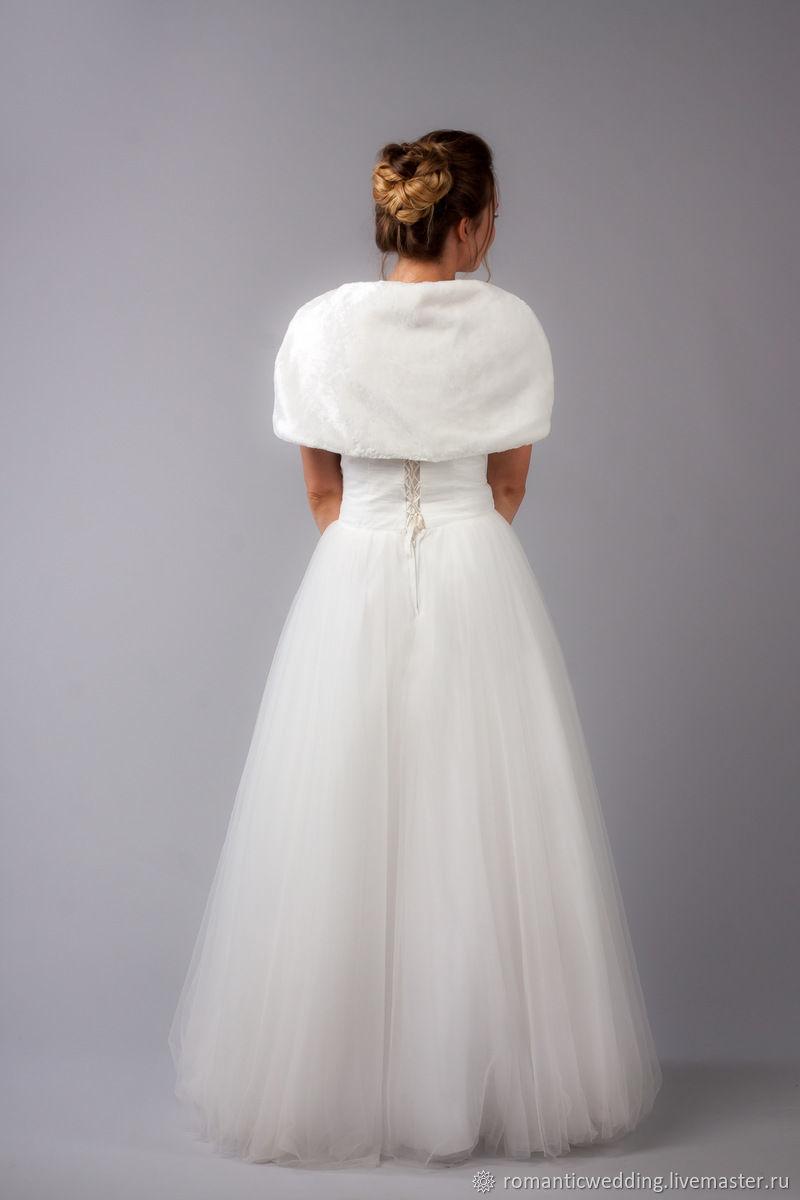 мне свою накидка для свадебного платья фото инфа