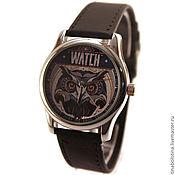 Украшения ручной работы. Ярмарка Мастеров - ручная работа Дизайнерские наручные часы Owl  Watch. Handmade.