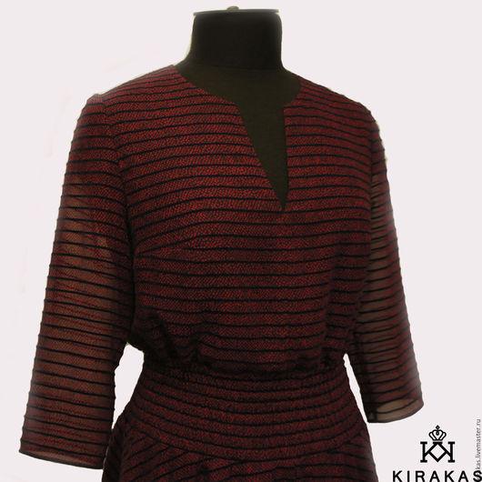 Платья ручной работы. Ярмарка Мастеров - ручная работа. Купить Платье. Handmade. Бордовый, Платье нарядное, платье на заказ