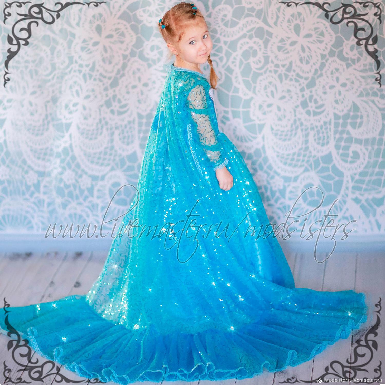 Carnival costume 'Elsa' Art.-482, Carnival costumes for children, Nizhny Novgorod,  Фото №1