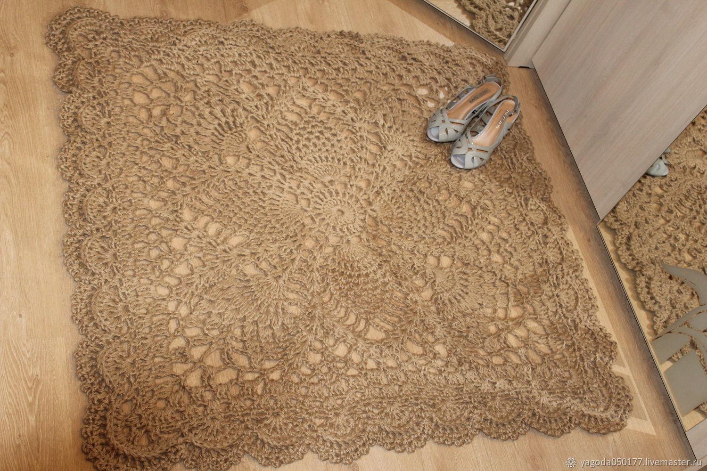 Jute carpet 'Gingerbread'', Carpets, Kaluga,  Фото №1