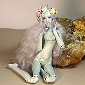 Куклы и игрушки ручной работы. Ярмарка Мастеров - ручная работа фарфоровая шарнирная кукла Стрекоза. Handmade.