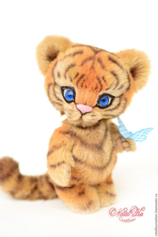 Мишки Тедди ручной работы. Ярмарка Мастеров - ручная работа. Купить Влюбленный в лето Тигр 16,5 см, тедди тигр, авторский тигр. Handmade.