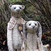 Куклы и игрушки ручной работы. Ярмарка Мастеров - ручная работа Бертран и Эльза. Handmade.