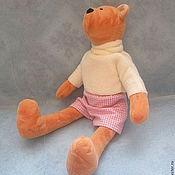 Куклы и игрушки ручной работы. Ярмарка Мастеров - ручная работа Медведик Тильда. Handmade.