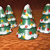 Куклы и игрушки ручной работы. Ярмарка Мастеров - ручная работа Игрушки из дерева Ёлочки. Handmade.
