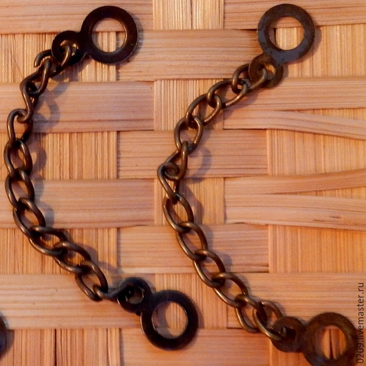 Аппликации, вставки, отделка ручной работы. Ярмарка Мастеров - ручная работа. Купить петля-вешалка длина 9 см. Handmade.