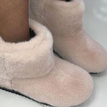 Обувь ручной работы. Ярмарка Мастеров - ручная работа УГГИ НОРКОВЫЕ. Handmade.