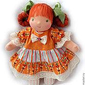 Куклы и игрушки ручной работы. Ярмарка Мастеров - ручная работа Апельсинка, 33 см. Handmade.