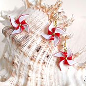 """Украшения ручной работы. Ярмарка Мастеров - ручная работа Комплект """"Навстречу ветру"""". Handmade."""