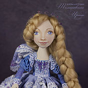 Куклы и игрушки ручной работы. Ярмарка Мастеров - ручная работа Ангел-хранитель для любимой дочки. текстильная кукла. Handmade.