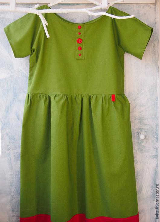 Платья ручной работы. Ярмарка Мастеров - ручная работа. Купить зеленое. Handmade. Ярко-зелёный, яркое платье