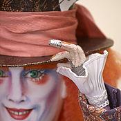 Куклы и пупсы ручной работы. Ярмарка Мастеров - ручная работа Безумный Шляпник текстильная кукла. Handmade.
