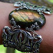 Украшения handmade. Livemaster - original item Bracelet labradorite. Handmade.