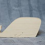 Материалы для творчества ручной работы. Ярмарка Мастеров - ручная работа Кашалот деревянный. Handmade.
