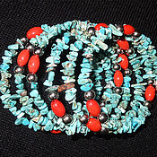 Украшения handmade. Livemaster - original item bracelet TURQUOISE. Handmade.