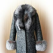 Одежда handmade. Livemaster - original item Winter coat with Fox fur. Handmade.