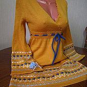 """Одежда ручной работы. Ярмарка Мастеров - ручная работа Платье""""Девушка-молодая осень"""". Handmade."""