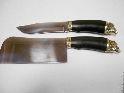 """Оружие ручной работы. Ярмарка Мастеров - ручная работа. Купить Нож""""Баран""""Олень""""с литьем. Handmade. Комбинированный, ножи для вырубки, подарок охотнику"""
