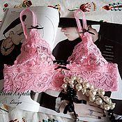 Одежда handmade. Livemaster - original item Copy of BRALETT BRIDE. White color.. Handmade.