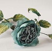 Цветы и флористика handmade. Livemaster - original item Silk flowers interior rose