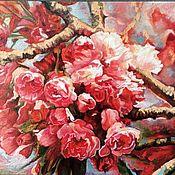 """Картины ручной работы. Ярмарка Мастеров - ручная работа """"Моя весна"""". Handmade."""