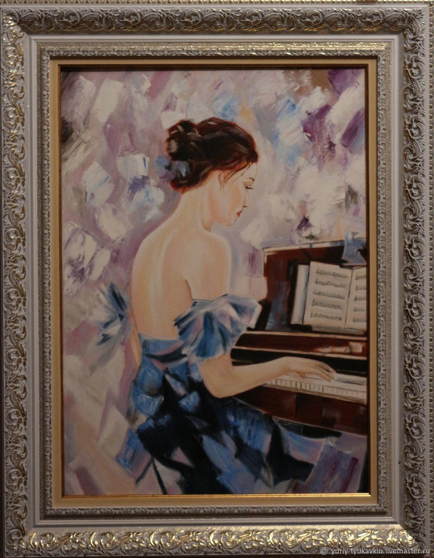 """"""" Пианистка """" (копия), Картины, Москва, Фото №1"""