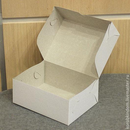 Упаковка ручной работы. Ярмарка Мастеров - ручная работа. Купить Коробочка 15х11х6 см белая без разделителя. Handmade. Коробочка