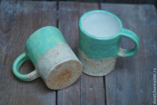 Кружки и чашки ручной работы. Ярмарка Мастеров - ручная работа. Купить Кружки про леса... Handmade. Комбинированный, керамика купить