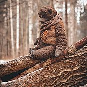 Мягкие игрушки ручной работы. Ярмарка Мастеров - ручная работа Winter Bear. Handmade.