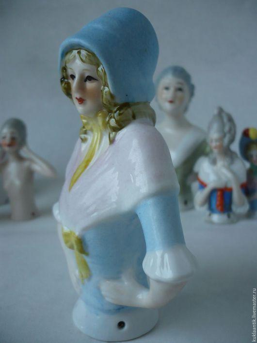 Винтажные куклы и игрушки. Ярмарка Мастеров - ручная работа. Купить Кукла-половинка /half-doll/, Антикварная/старинная,  фарфор, Германия. Handmade.