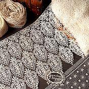 Материалы для творчества ручной работы. Ярмарка Мастеров - ручная работа Кружево макраме М80 кружево плетеное, кружево для отделки. Handmade.